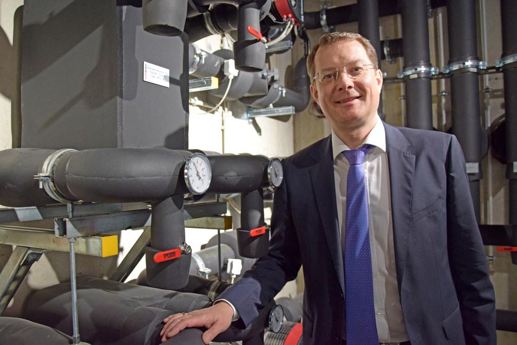 Geschäftsführer der Steiner Haustechnik KG, Bernhard Zwielehner.