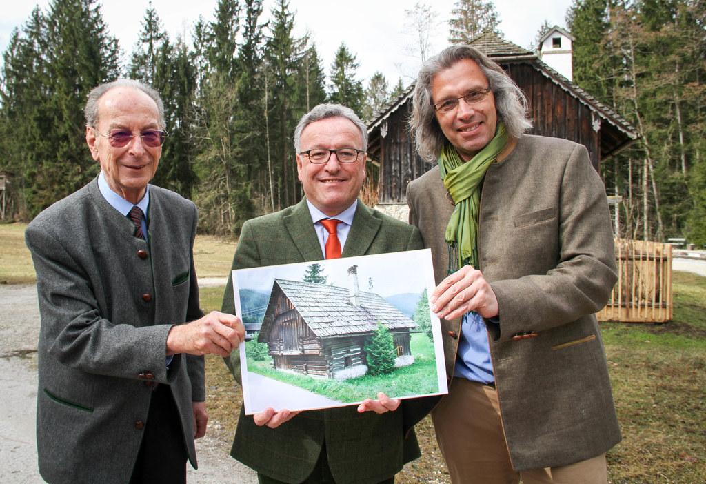 Saisoneröffnung im Salzburger Freilichtmuseum 2018, im Bild: Axel Wagner (Vorsit..