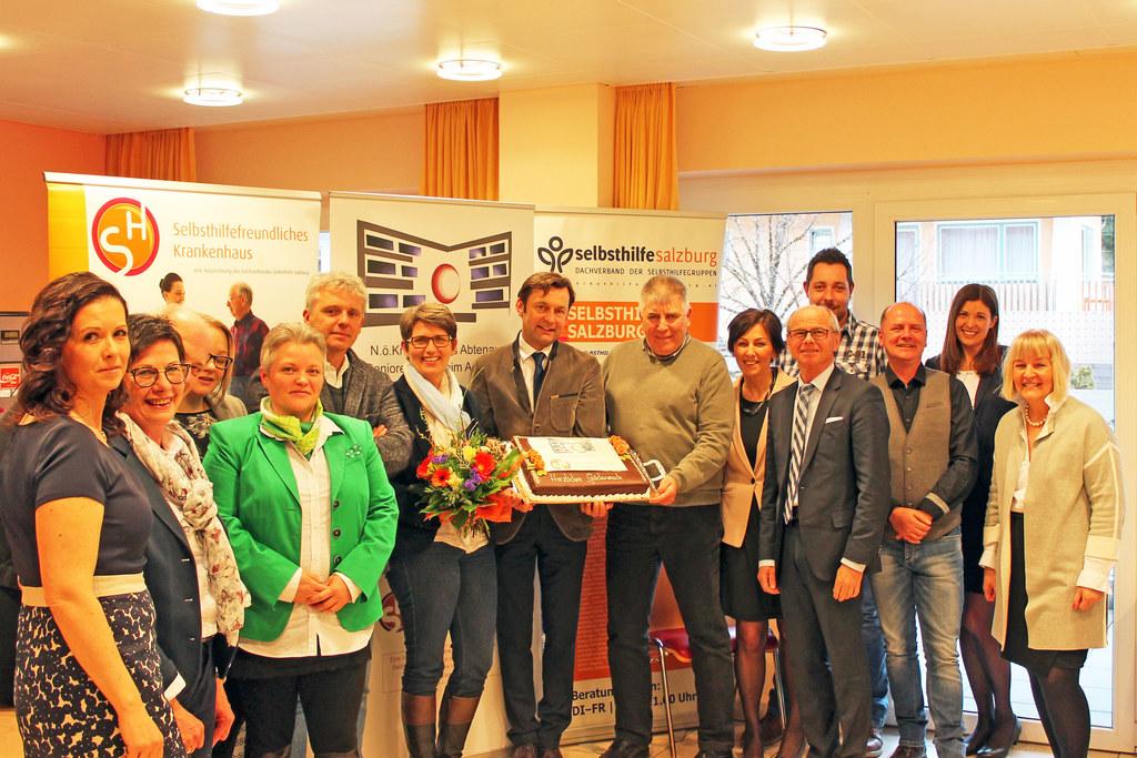 Landeshauptmann-Stellvertreter Christian Stöckl bei der Verleihung des