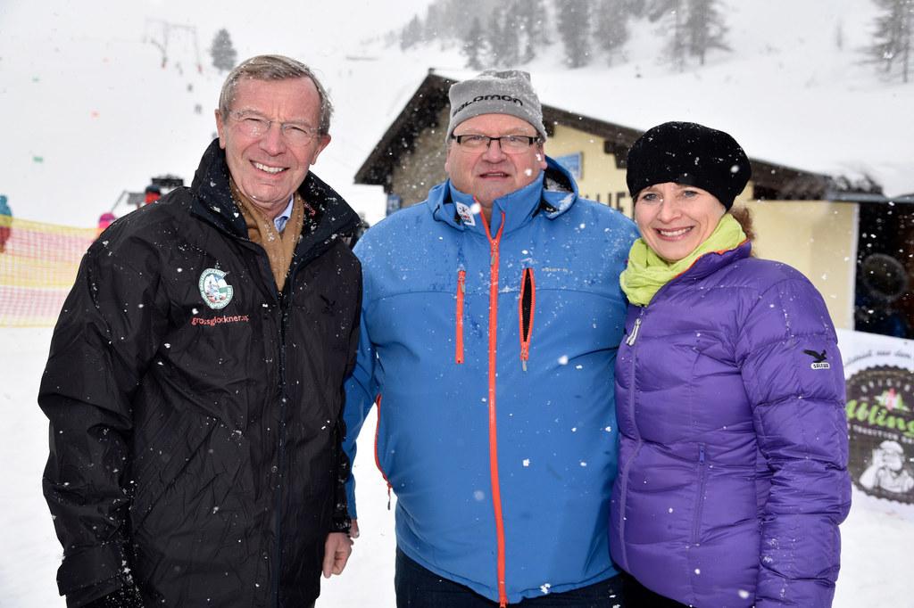 School on Snow in Obertauern, im Bild: Landeshauptmann Wilfried Haslauer, Organi..