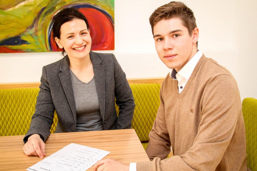 Ursula und Emil Fink: Mutter und Sohn gehen am 22. April wählen.