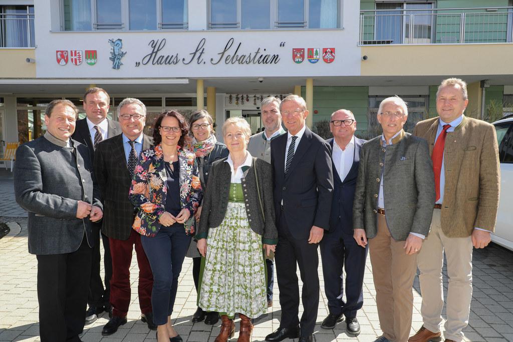 Eröffnung des Erweiterungsbaues des Seniorenheim St. Sebastian in Hof bei Salzbu..