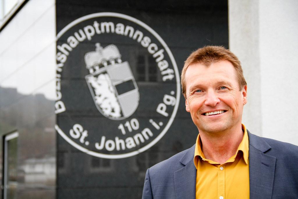 BH Harald Wimmer muss mit der Bezirkshauptmannschaft St. Johann die Herausforderung mit den Quarantänegemeinden bewältigen. Im Pongau gibt es zudem die höchste Anzahl an Infizierten.