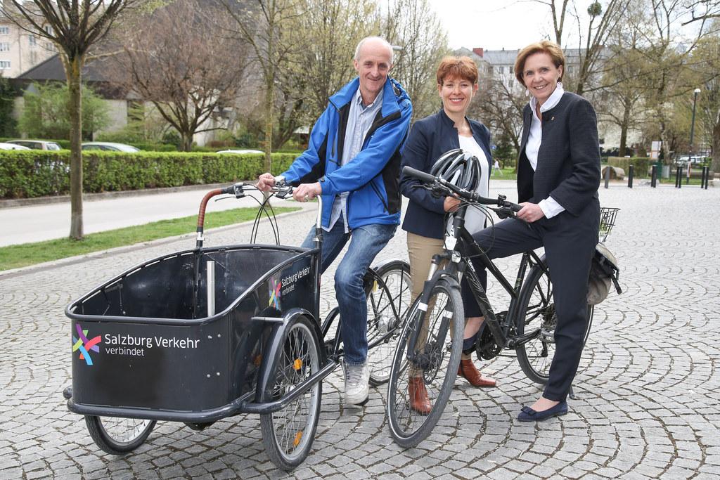 Vernetzungstreffen Radverkehr in Salzburg, im Bild: Peter Weiss (Radkoordinator ..