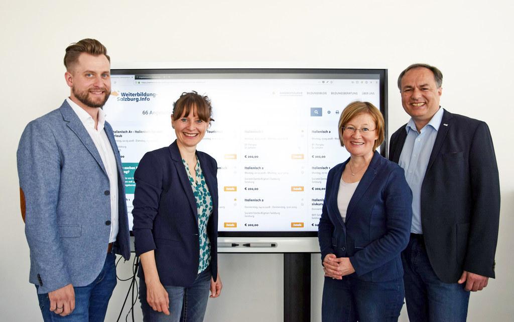 Die neue Suchmaschine Weiterbildung-Salzburg.Info macht Weiterbildung ab sofort ..
