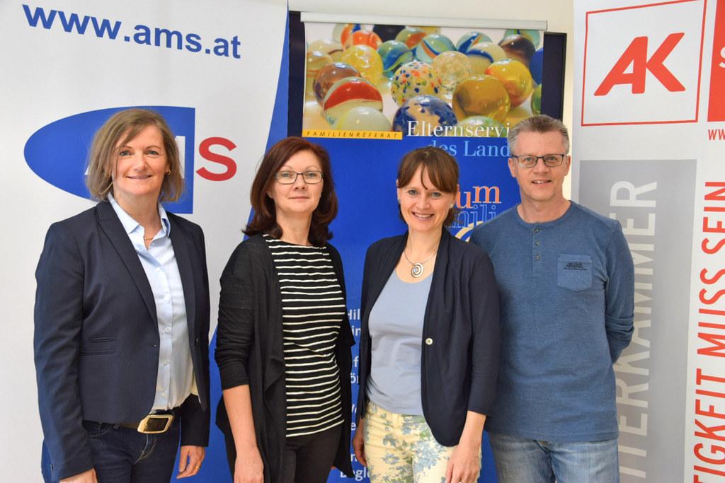 Erstes Salzburger Info.Frühstück für junge Lungauer Familien: Waltraud Loidl (AM..