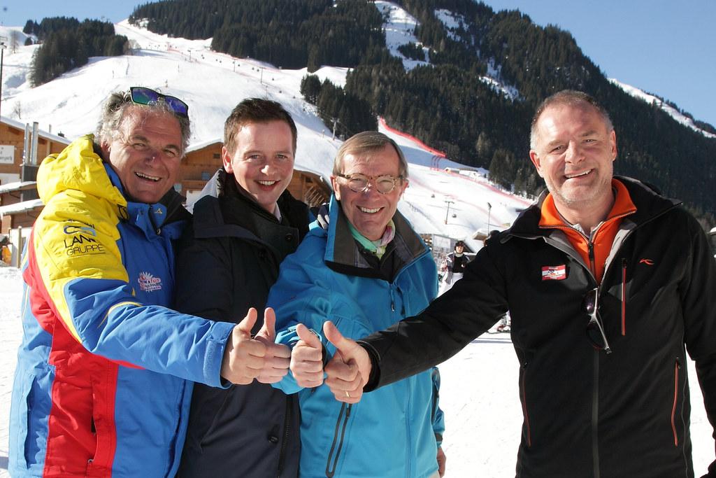 Wollen die Alpine Ski-WM 2023 nach Saalbach-Hinterglemm holen: Ski-Präsident Bar..