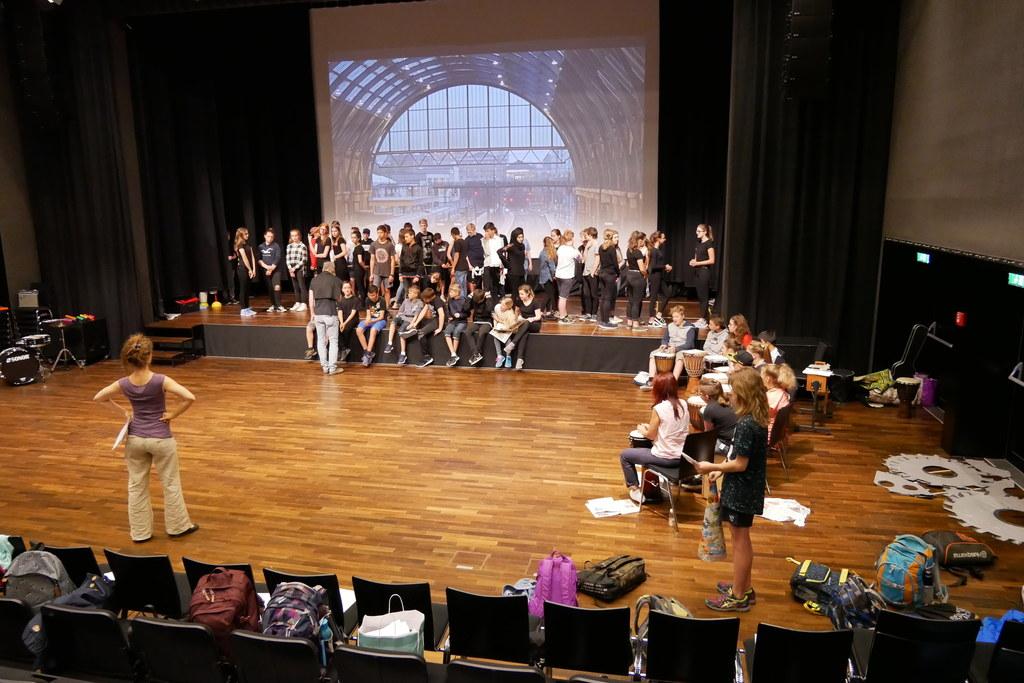 """Engagierte Theaterprojekte wie """"In 80 Tagen um die Welt"""" in Hof beleben die Kult.."""