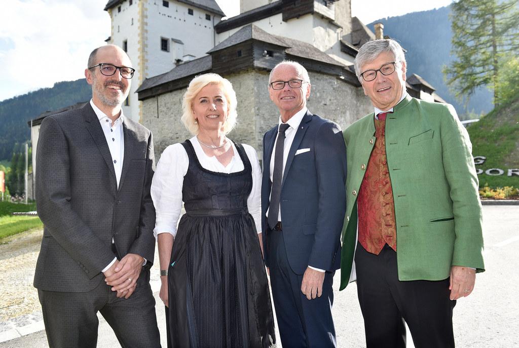 50 Jahre Burg Mauterndorf, im Bild:  Maximilian Brunner (GF Burgen & Schlösser),..