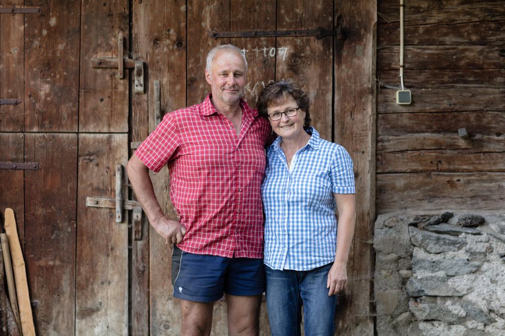 Die Familie  Martin und Andrea Rieder aus Hollersbach wurde Sieger des Bio Award..