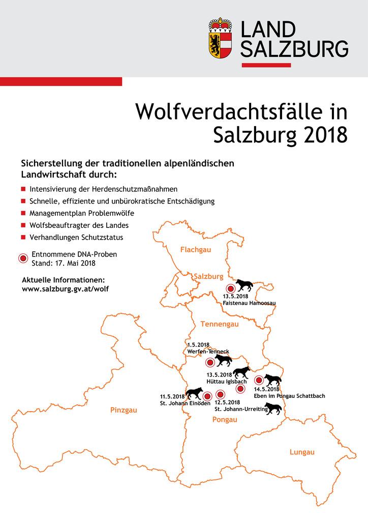 Infografik: Wolf-Verdachtsfälle