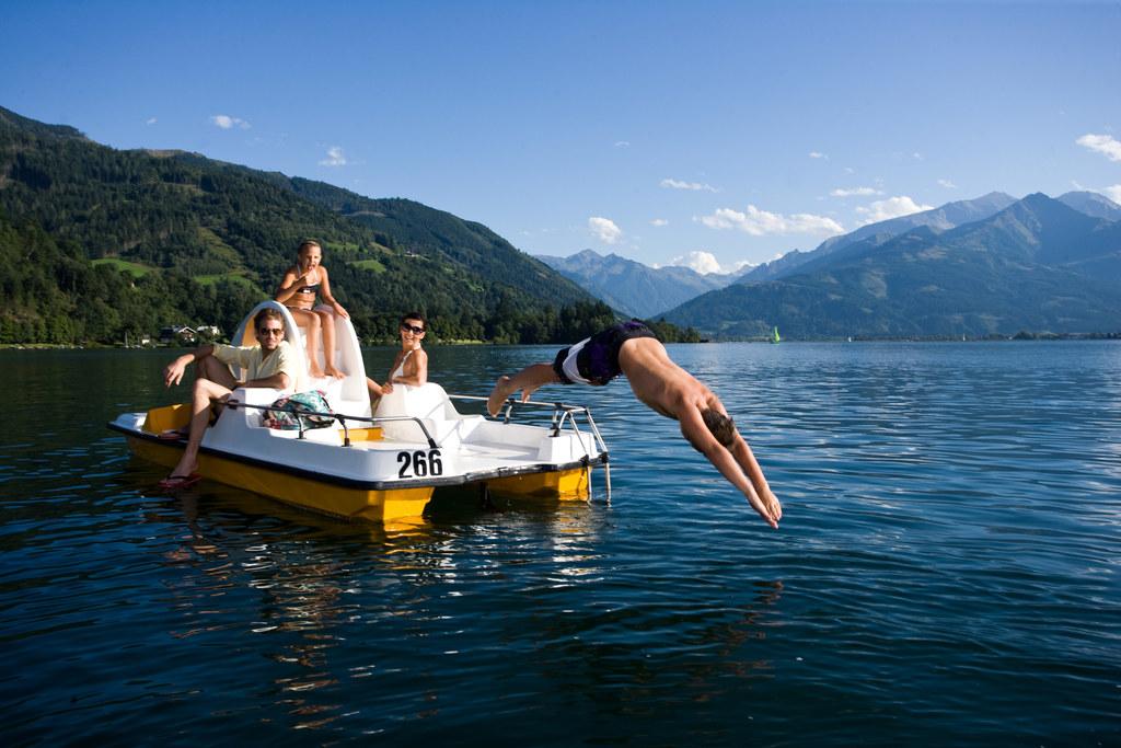 EU-Badegewässerbericht: Salzburgs Seen sind sehr sauber.