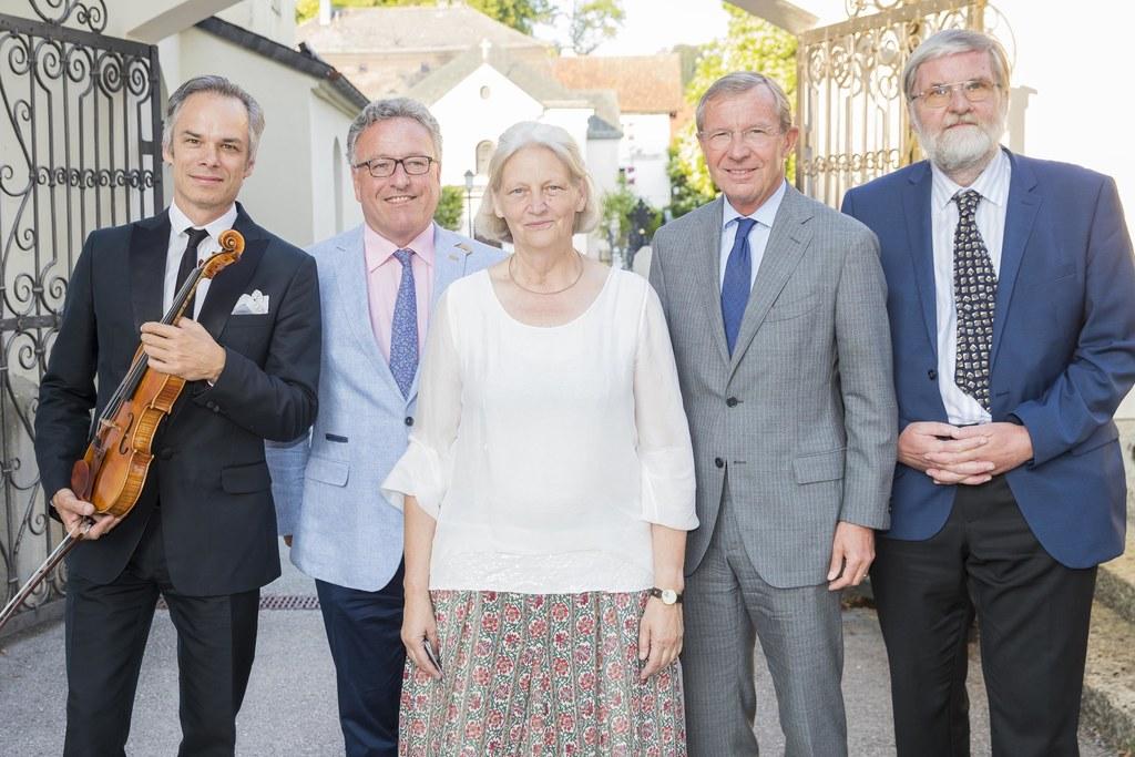 Eröffnung Diabelli Sommer in der Stiftskirche Mattsee, im Bild: Benjamin Schmid,..