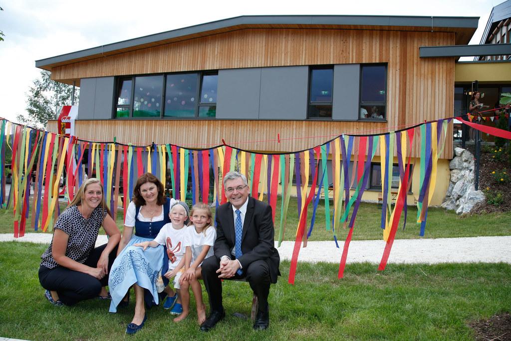 Kindergarteneröffnung in Nußdorf am Haunsberg, im Bild: Andrea Klambauer design...