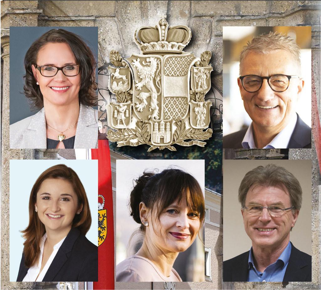 Mischung aus Neu und Erfahrung: die Klubobleute Daniela Gutschi (ÖVP), Walter St..