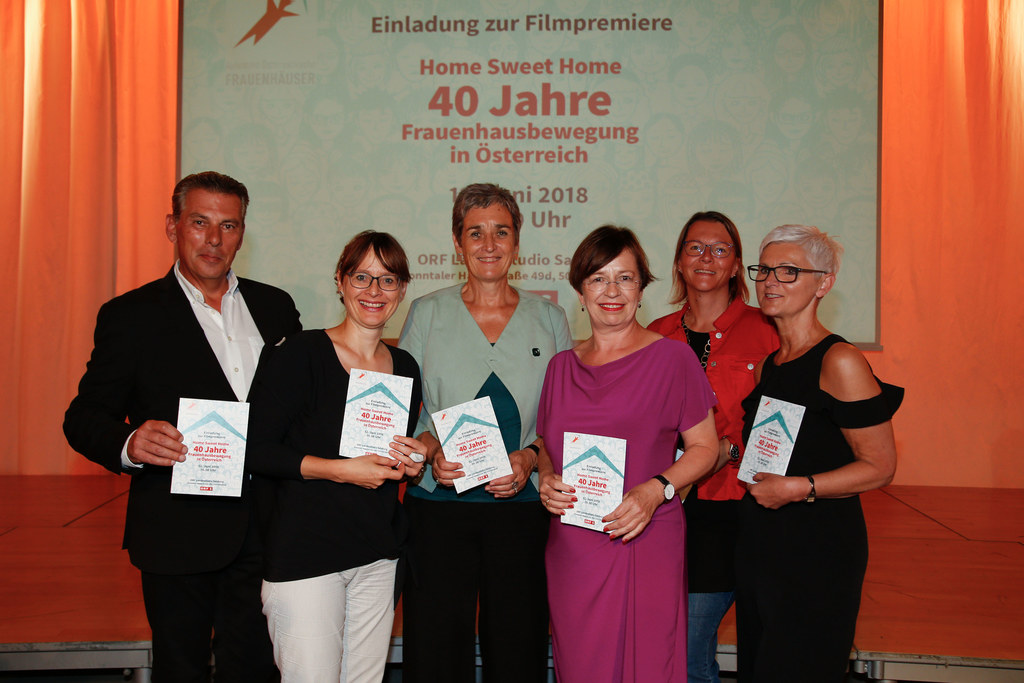 INT 40 Jahre Frauenhausbewegung im ORF Landesstudio, im Bild: CR Gerd Schneider,..