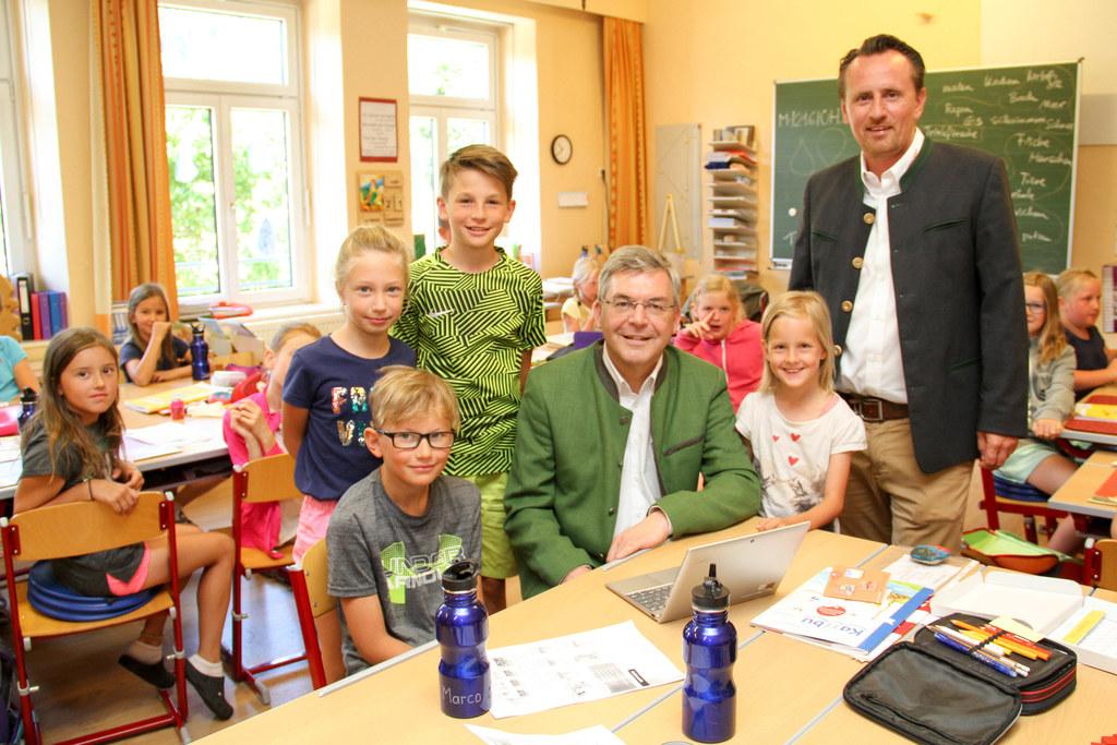 Die TrinkWasser!Schule 2018 ist die VS Oberweißburg in St. Michael im Lungau. LR..