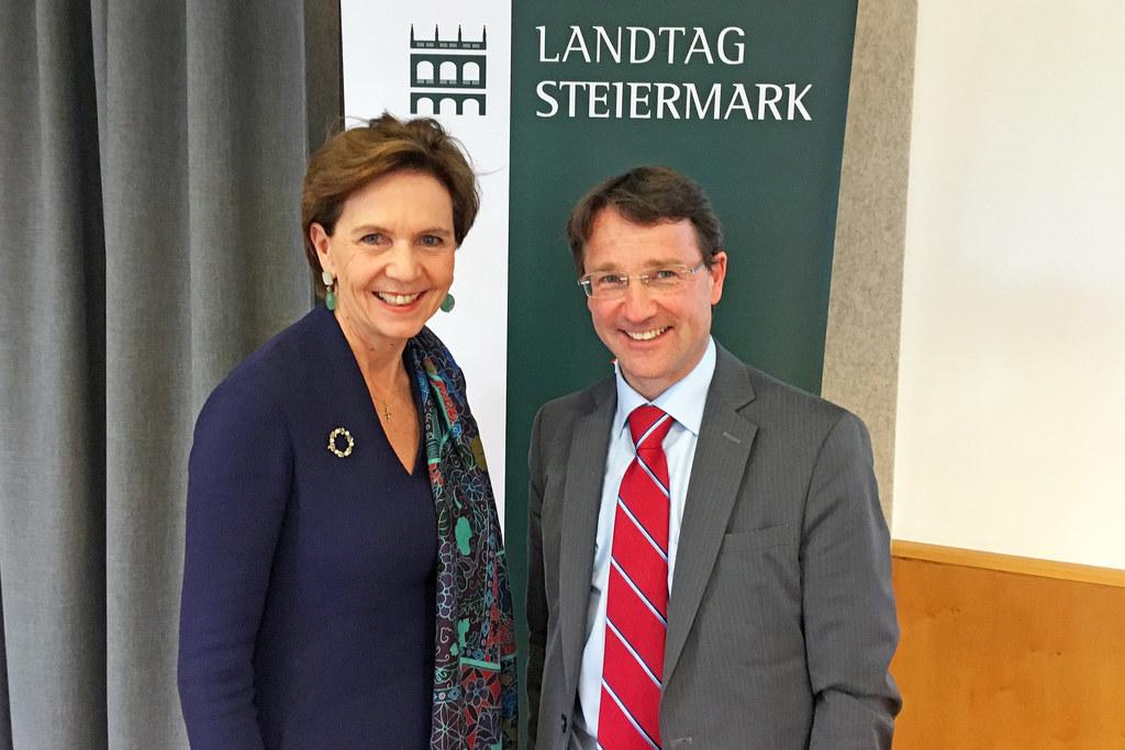 Landtagspräsidentenkonferenz in Bad Aussee, im Bild: Landtagspräsidentin Brigitt..