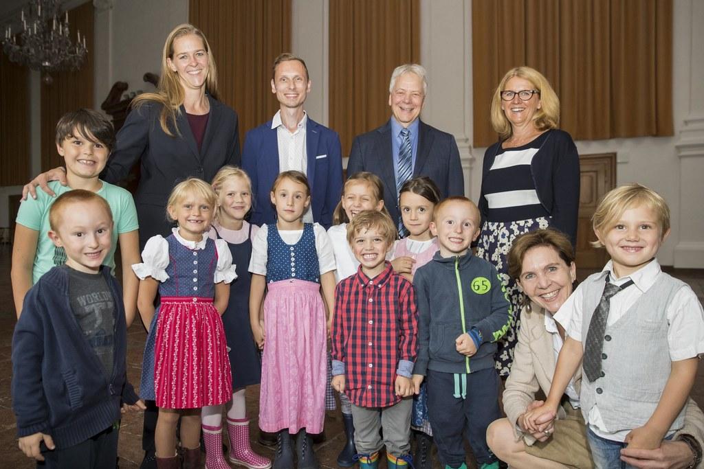 Landesrätin Andrea Klambauer, Sebastian Wirnsberger, Karl Heinz Brisch, Ulrike K..