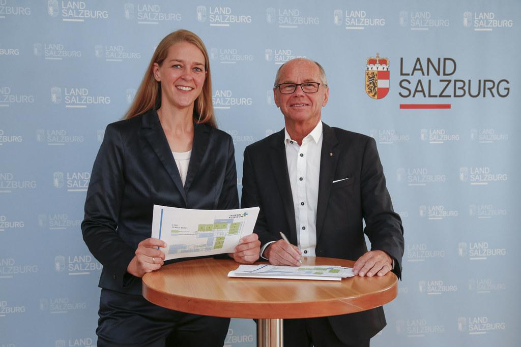 Landesrätin Andrea Klambauer und LH-Stv. Christian Stöckl sind überzeugt: Tauern..