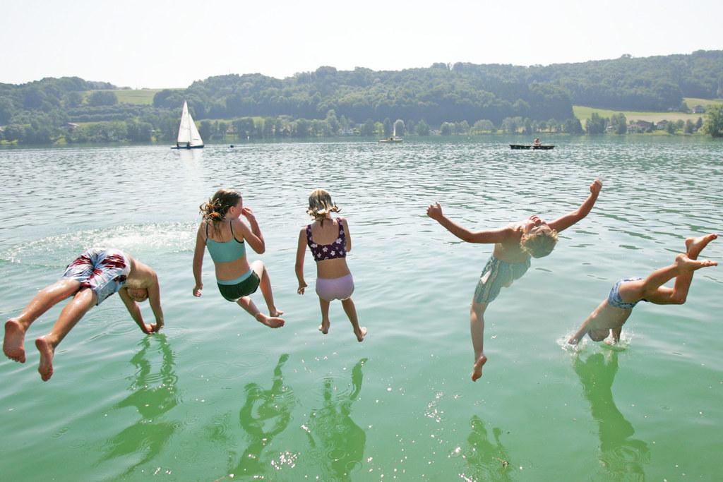 Badespaß in Salzburgs Seen mit Trinkwasserqualität