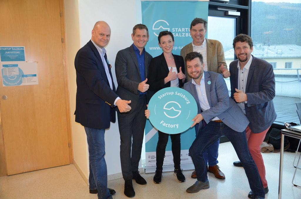 Die Jury: Andreas Spechtler (Silicon Castles), Markus Neumayr (Ramsauer & Stürme..