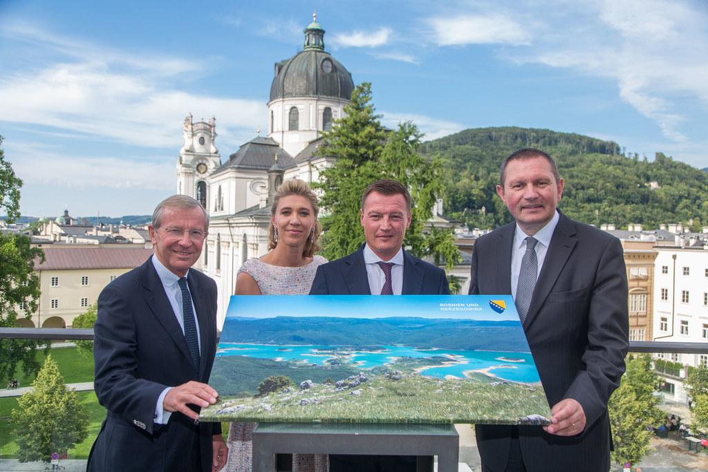 Markus Friesacher ist Honorarkonsul von Bosnien und Herzegowina in Salzburg, im ..