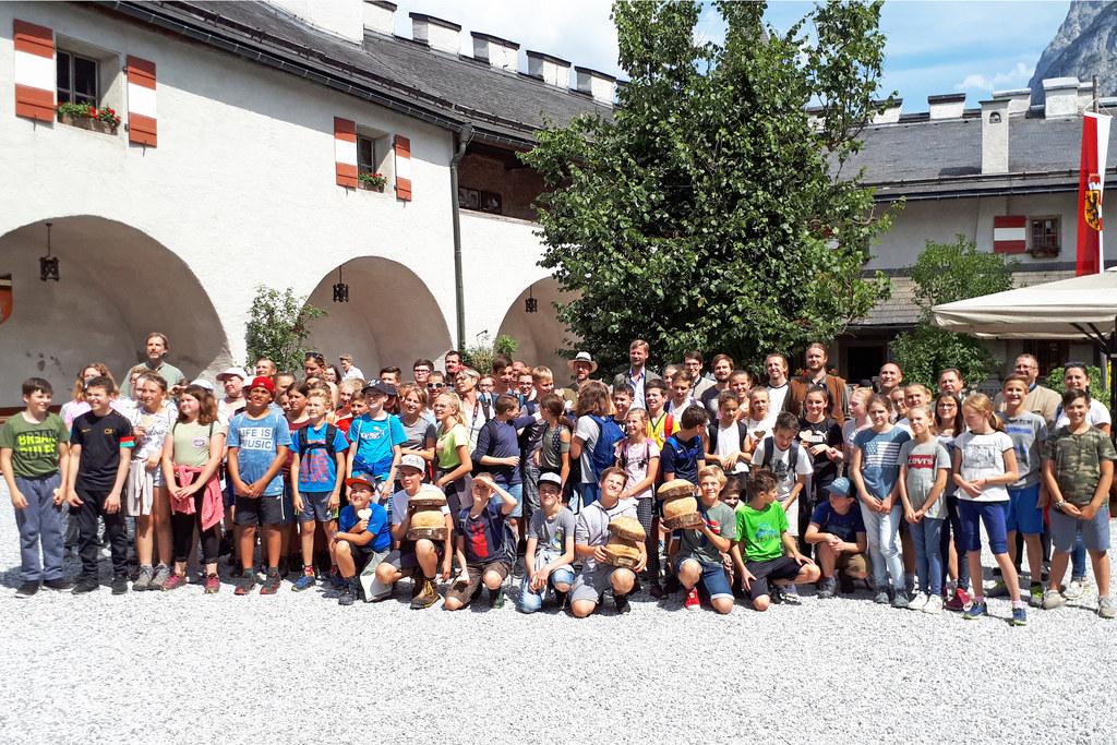 Auszeichnung der Salzburger Waldchampions 2018 auf Burg Hohenwerfen.