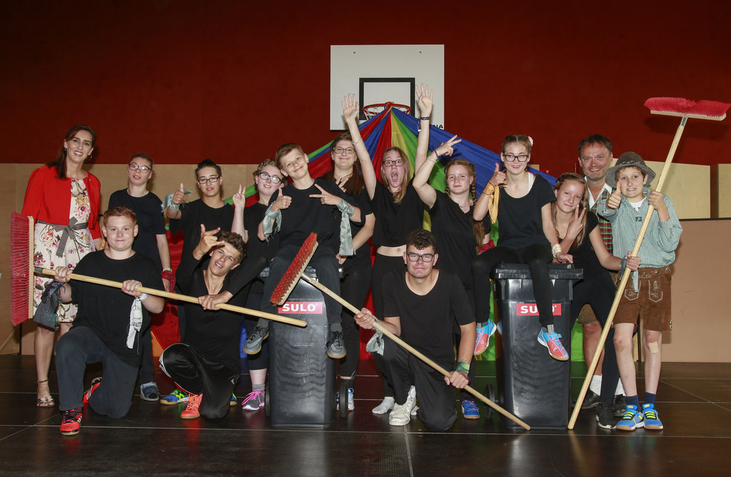 Abschlussfest an der St. Anton Sonderschule in Bruck an der Glocknerstraße, li. ..