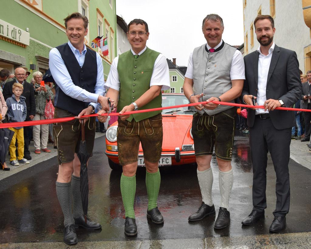 Eröffnung Begegnungszone Tamsweg, im Bild: LAbg Wolfgang Pfeifenberger, Vizebgm...