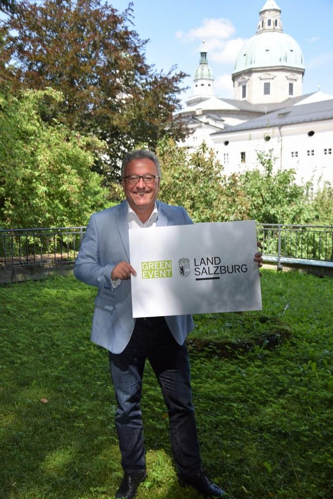 LH-Stv. Heinrich Schellhorn: Ein Green Event garantiert allen Besucherinnen und Besuchern, dass regional, umweltbewusst und qualitativ hochwertig veranstaltet wird.