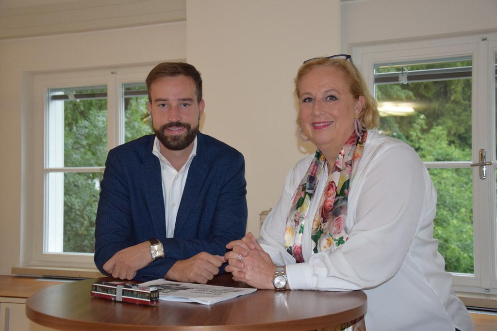 Landesrat Stefan Schnöll und EU-Abgeordnete Claudia Schmidt.
