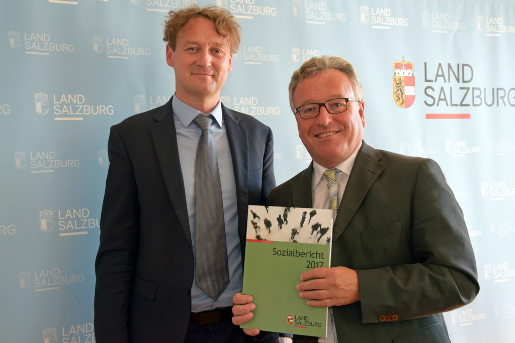 Präsentation des Sozialberichts 2017, im Bild: Andreas Eichhorn (Leiter der Sozi..