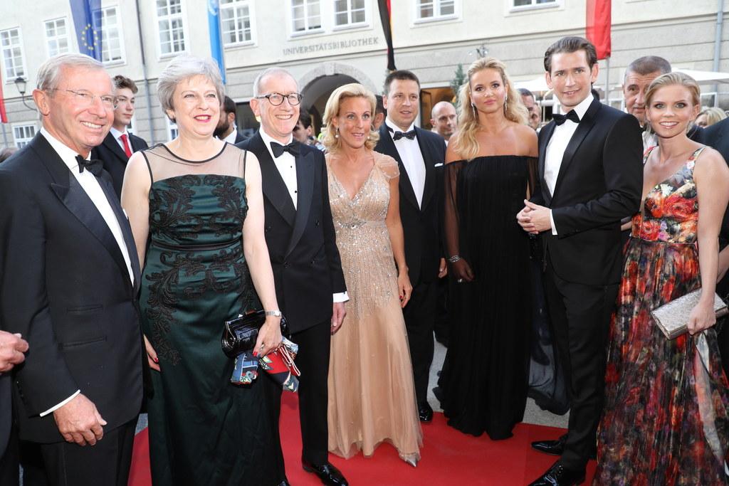 Salzburg steht wieder im Mittelpunkt der Weltöffentlichkeit.