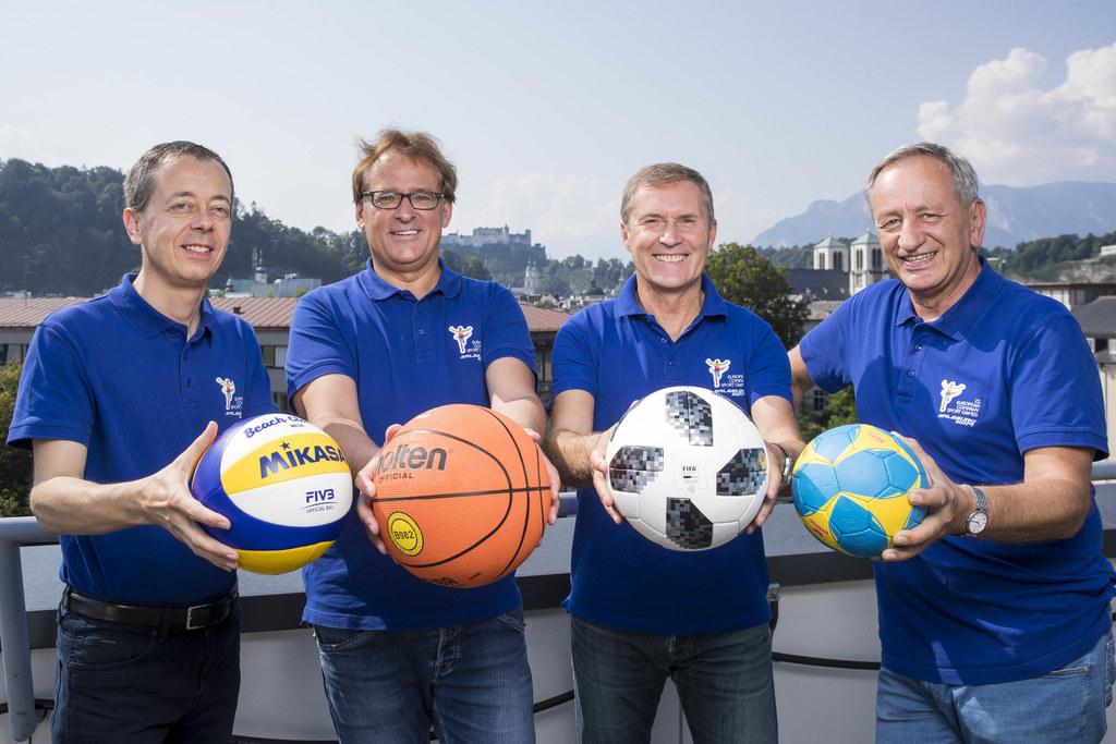 Reinhard Sitzler (Sportmanagement), Klaus Höftberger (OK-Chef), Manfred Pammer (..