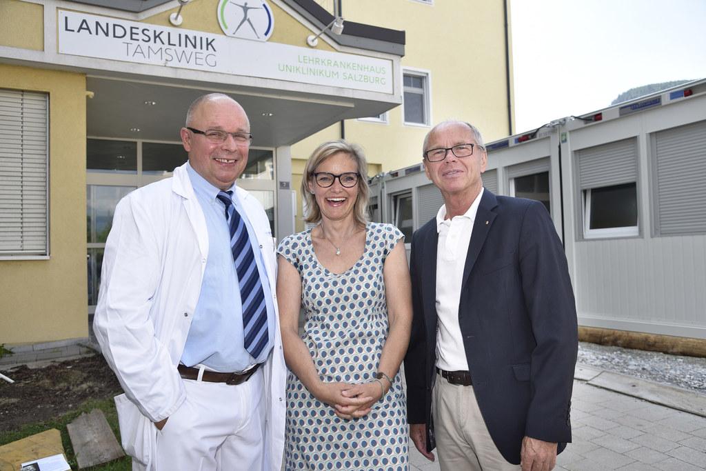 Bis 2019 soll die Generalsanierung der Landesklinik Tamsweg abgeschlossen sein. ..