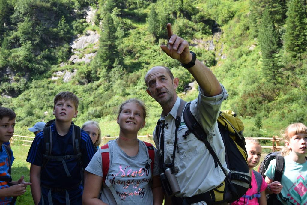 Für Anna wurde ein Traum wahr: Eine Woche im Wildniscamp im Nationalpark Hohe Ta..