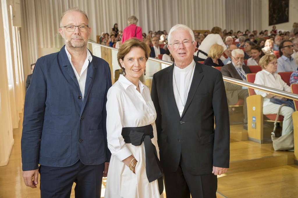 Festakt der Salzburger Hochschulwoche in der Großen Aula der Universität Salzbur..