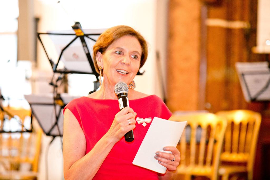 Landtagspräsidentin Brigitta Pallauf  beim Benefizball der Malteser in Salzburg