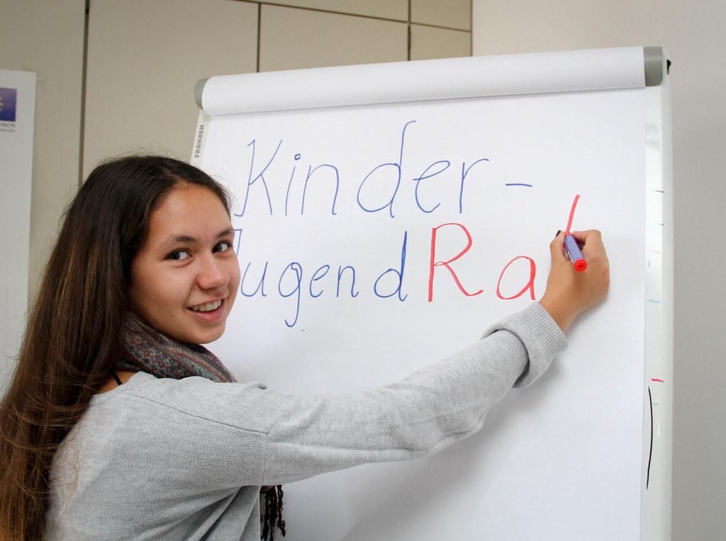 Luna Deusch (17) ist Vorsitzende des Kinder- und Jugendrates in Salzburg.
