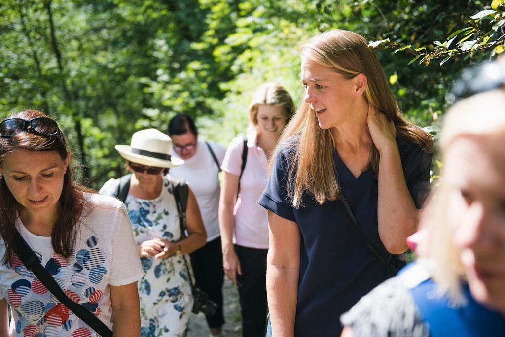Landesrätin Andrea Klambauer wanderte mit Pongauer Frauen.