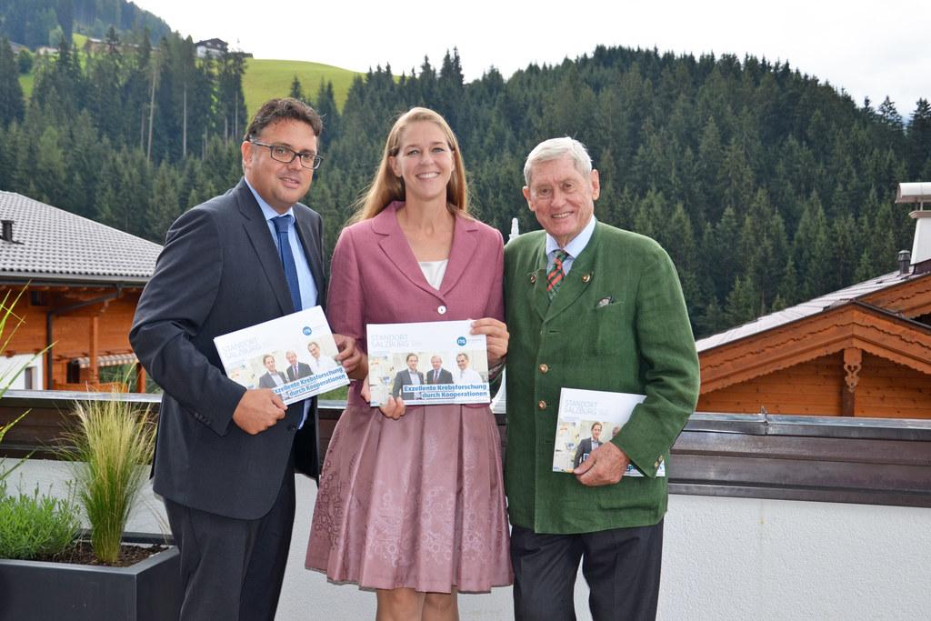 Salzburger Forschungsinitiativen präsentierten sich beim Europäischen Forum Alpb..