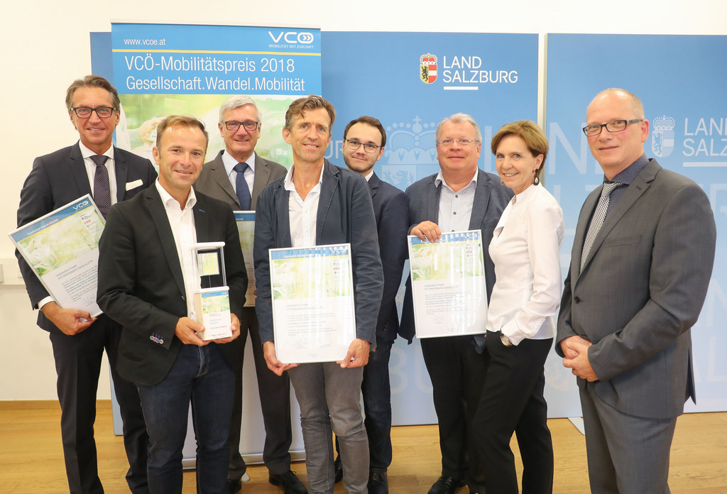 VCÖ-Mobilitätspreis, Präsentation der Gewinner 2018, im Bild: Leonhard Schitter,..