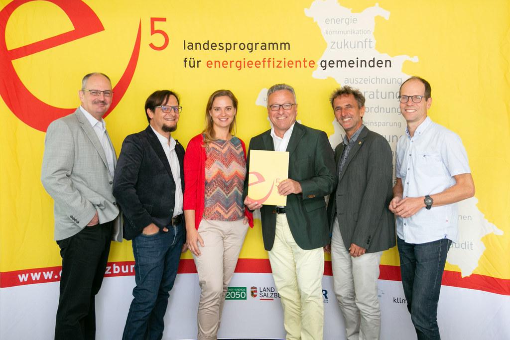 Beeindruckende Zahlen rund um die Themen Bauen, Wohnen, Umwelt und e5 im SIR, im..