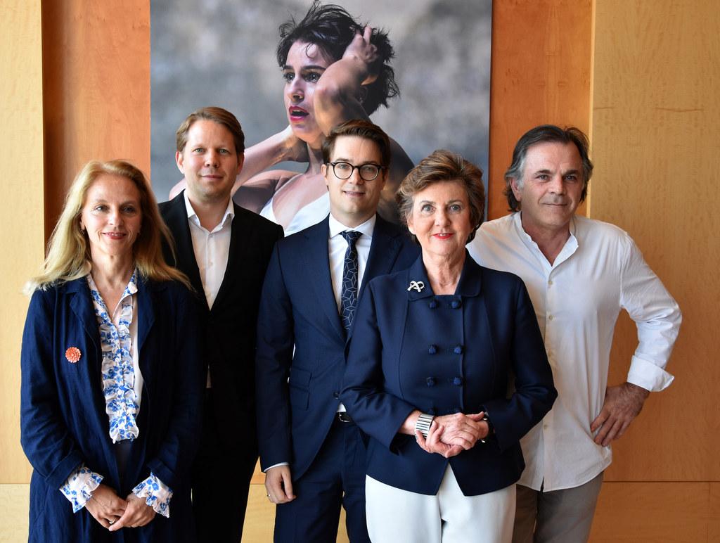 Bilanz-Pressekonferenz der Salzburger Festspiele, im Bild: Bettina Hering, Flori..
