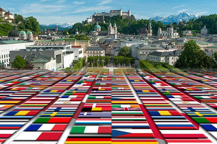 In den kommenden Wochen ist Salzburg Schauplatz von gleich vier europäischen Großtreffen.