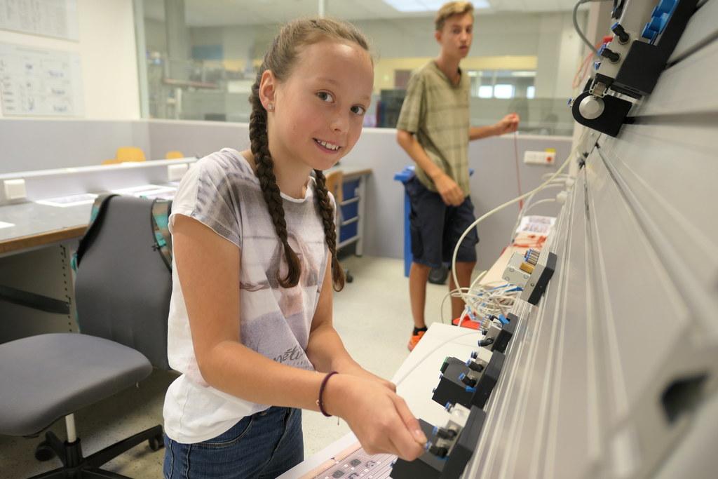 Kinder-MINT-Wochen gibt es im August im WIFI Salzburg und im TAZ Mitterberghütte..