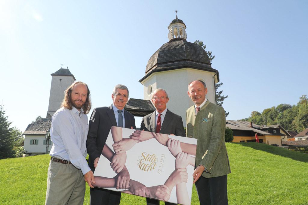 Pressegespräch in Oberndorf zur Landesausstellung