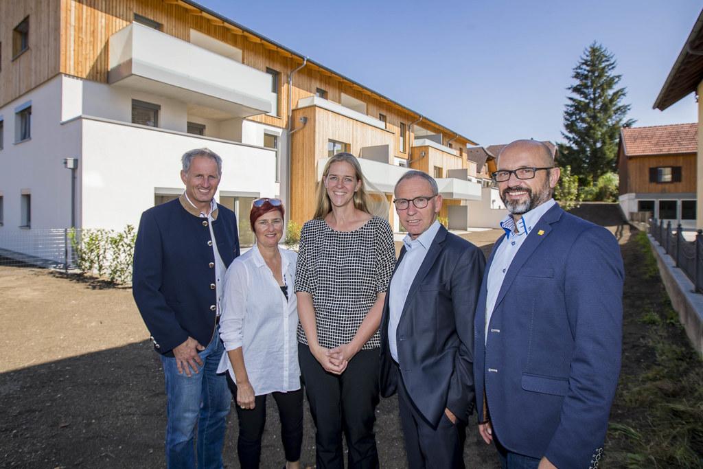 Neue Wohnanlage für Betreutes Wohnen in Berndorf übergeben, im Bild: Salzburg Wo..