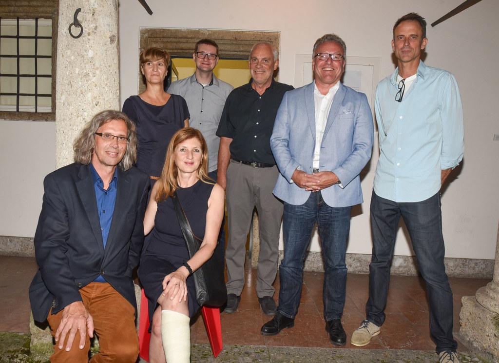 """Ausstellungseröffnung """"Stand Ort Wechsel – Häuser im Wandel"""", im Traklhaus, im B.."""